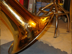 Brass Instrument Dent Removal - After - KBI Music Shoppe - Fredericksburg, Virginia