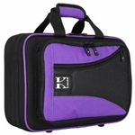 KACES Clarinet Case Purple