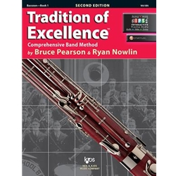 Traditions of Excellence Bassoon Book 1